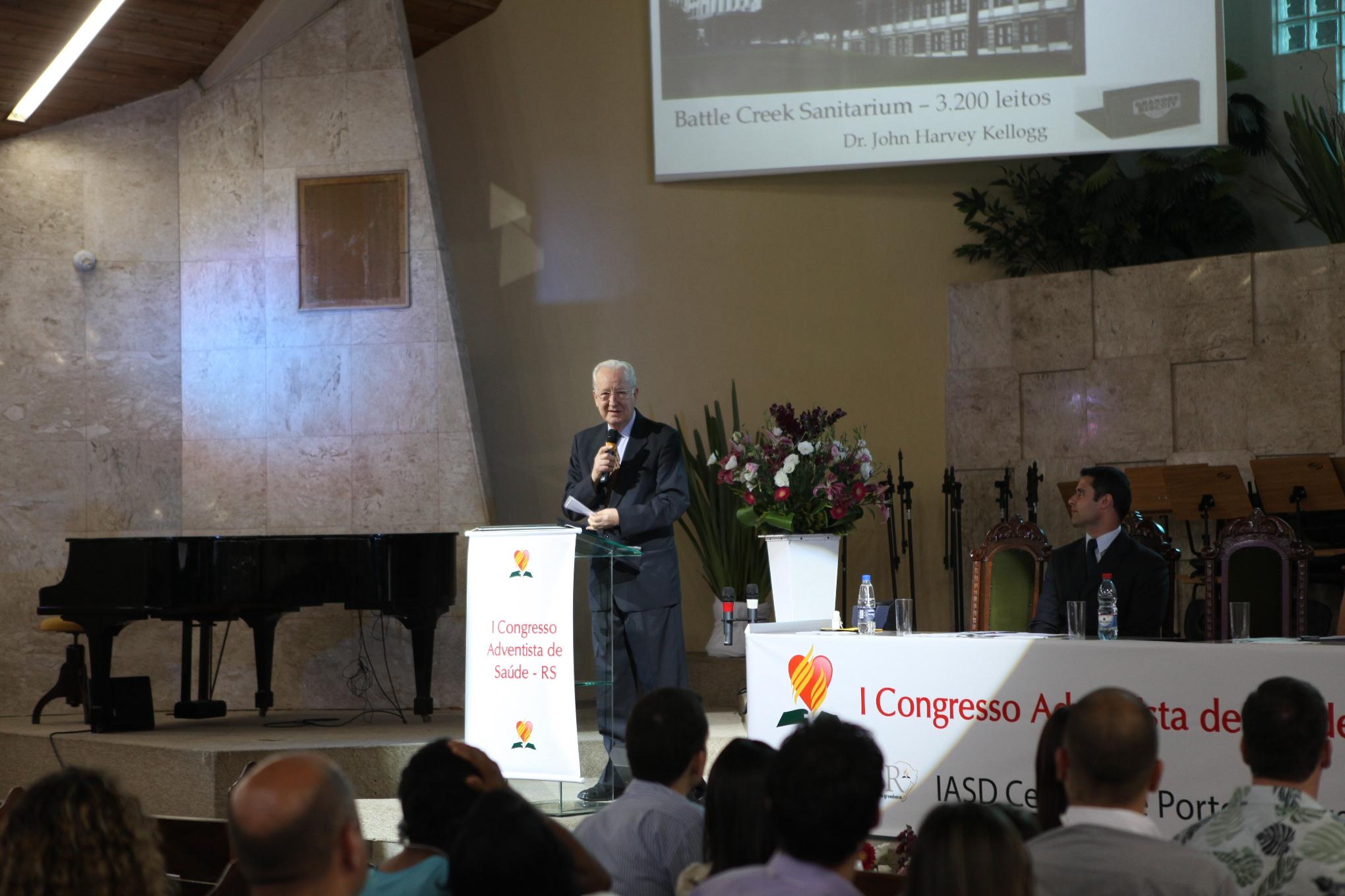 Este foi o primeiro congresso adventista de saúde do Rio Grande do Sul