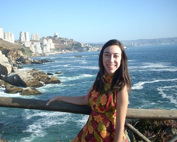 A jovem Liz da Motta Guimarães, representante da América do Sul no projeto Um Ano em Missão.