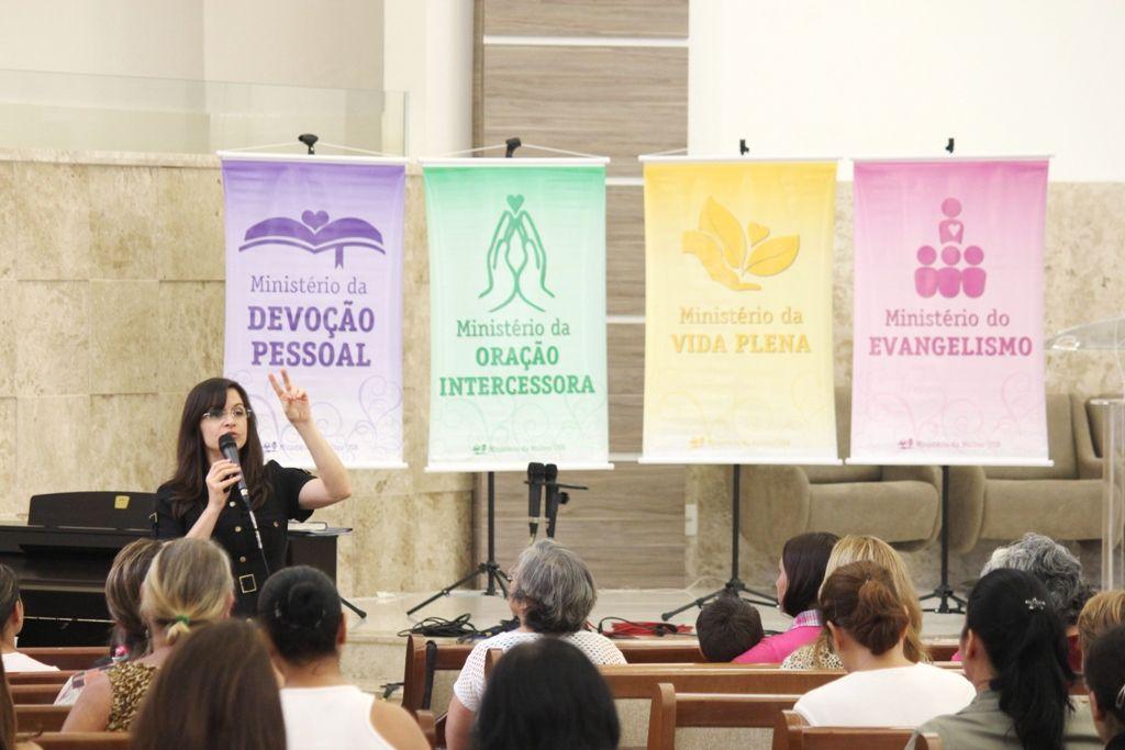 Evangelismo e reavivamento serão as bases de ações do Ministério da Mulher, da recepção e das diaconisas.