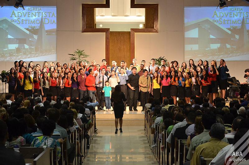 A celebração contou com várias participações especiais.