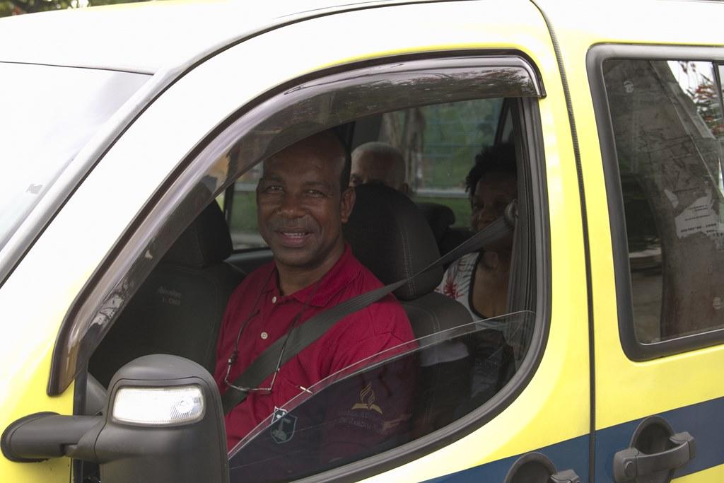 Taxista missionário