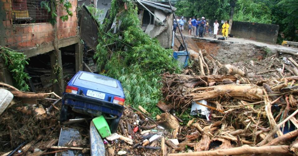 Enchente Baixada Fluminense