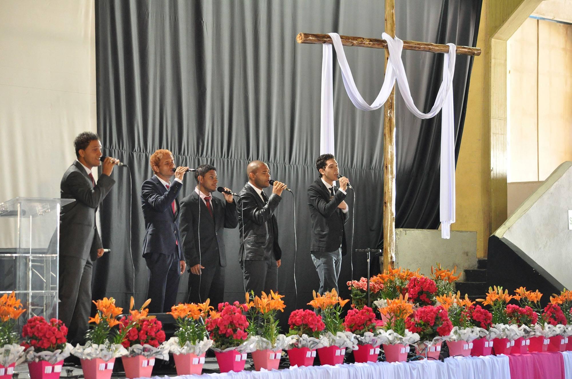 O encontro teve a participação do Grupo Heivs da cidade de São Paulo.
