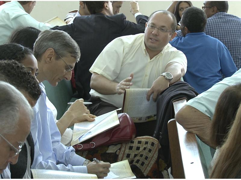 Cerca de 32 pastores distritais acompanharam os seus líderes no evento