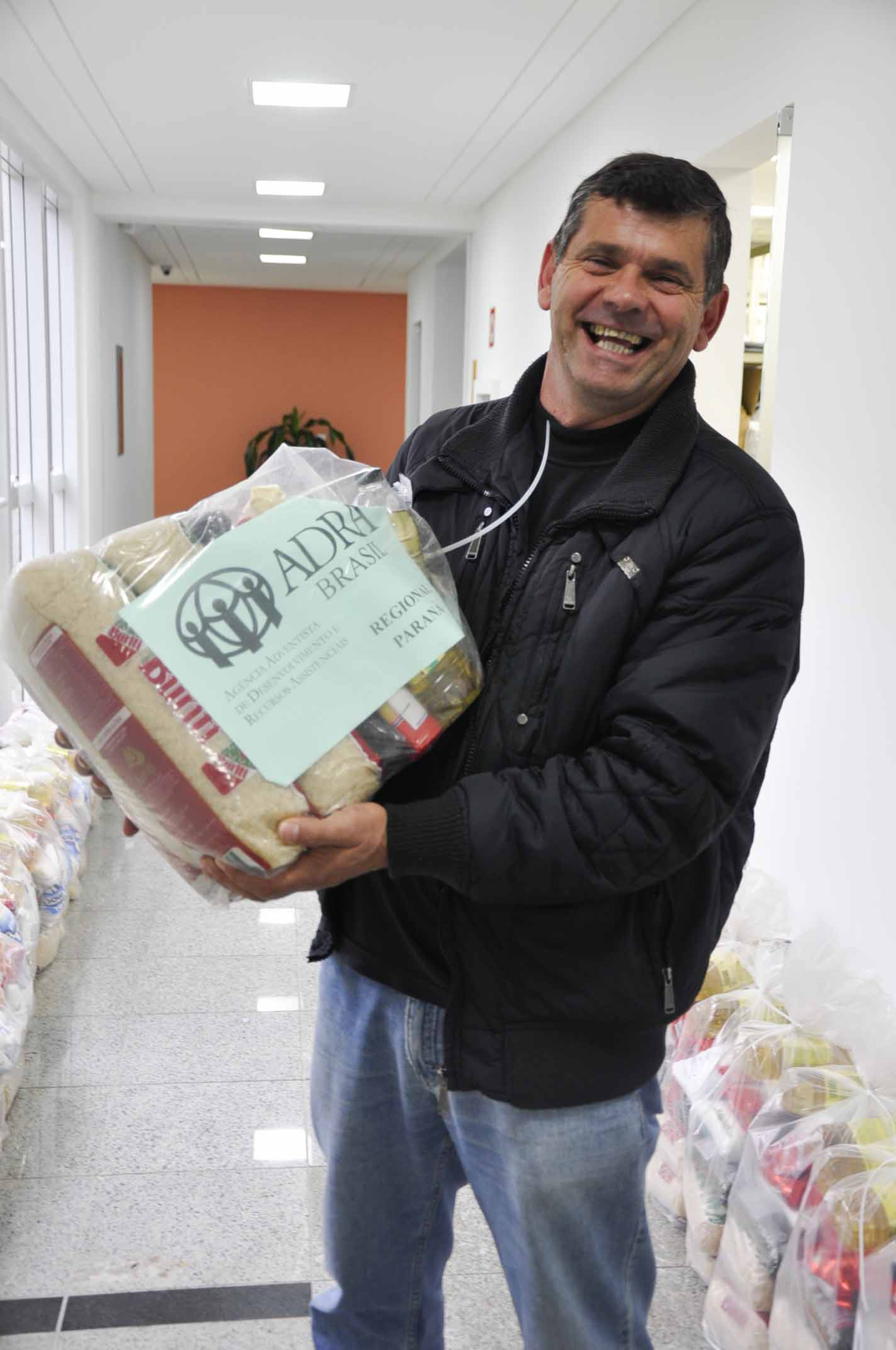 As cidades de Rio Negro, União da Vitória e Guarapuava já foram atendidas pela ADRA. Mateus do Sul é a última a receber as doações.
