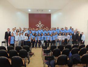Equipe de vendedores da região sudoeste paulista na editora da Casa publicadora Brasileira em Tatuí.