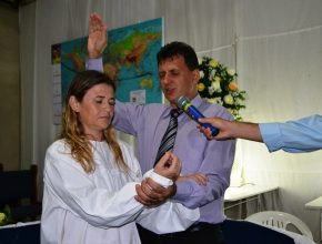 Batismo de Romélia