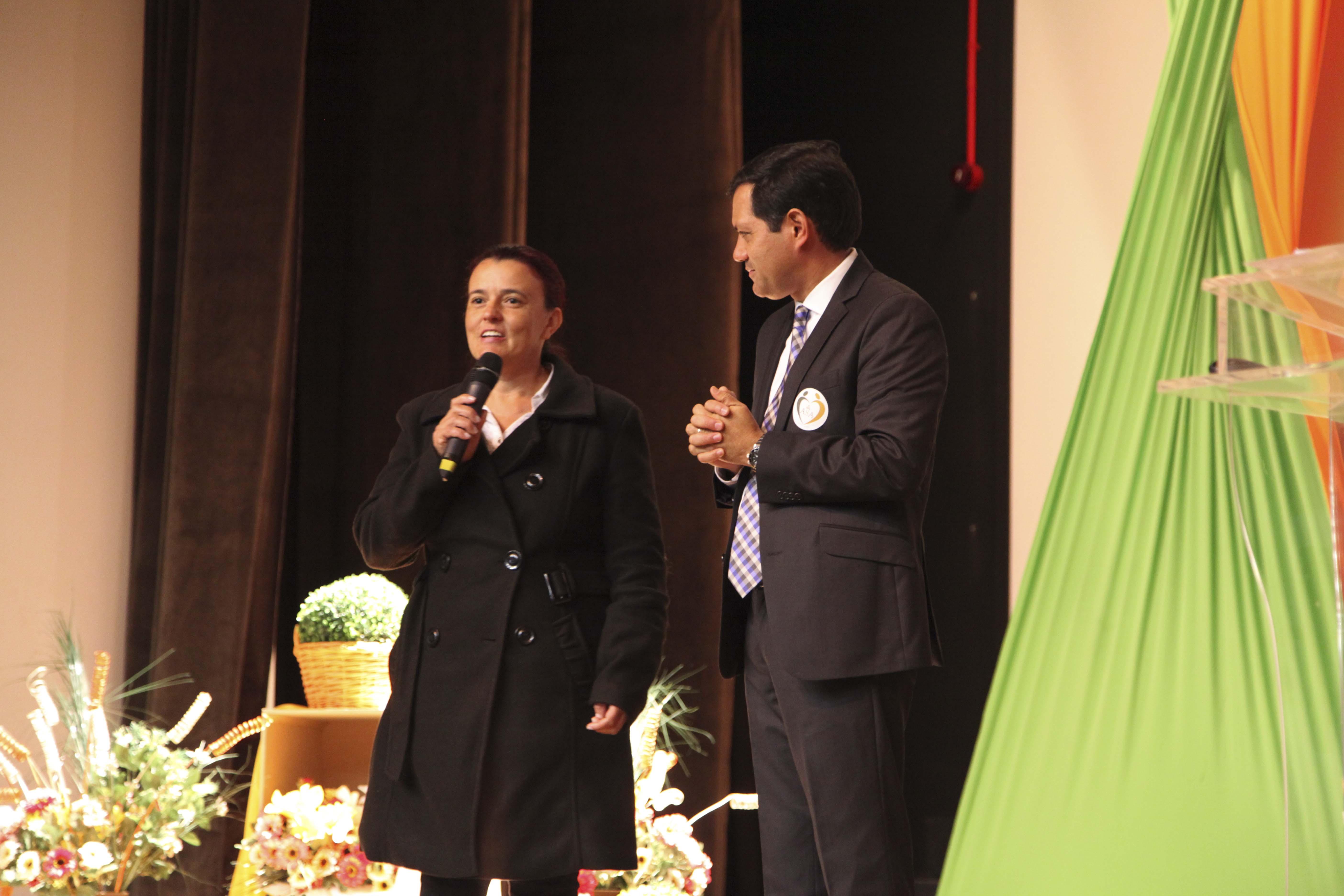 Assumindo a liderança da ASA de sua igreja este ano, Cristiane mobilizou todos os membros e outras igrejas na campanha dos Amigos do Adrian