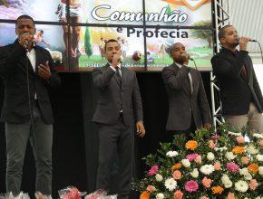 O grupo contou como foi o retorno à igreja e sobre o ministério musical.