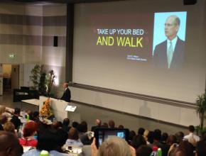 Presidente mundial afirma que é preciso dar o exemplo no que diz respeito a um estilo de vida saudável - Foto: Andrew McChesney