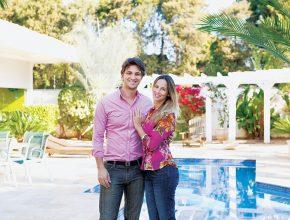 Luca e Flavia trabalharam como modelos internacionais