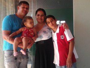 Valdir Cardoso garante que sua vida  e da família mudou e para melhor.  Foto: (Álbum de família)
