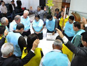 Na cidade de Tatuí no dia de celebração  15 Pequenos Grupos se multiplicaram