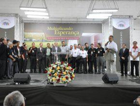 Equipes de pastores da região sudoeste paulista comprometido com o projeto