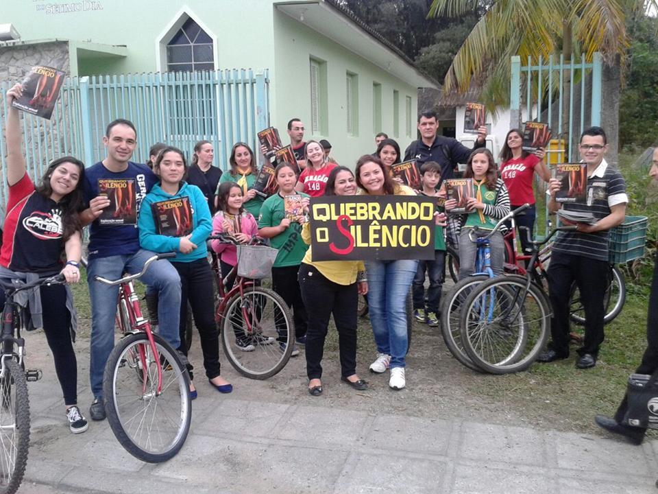No próximo mês, o ministério dos Ciclistas da Esperança completa um ano de existência.