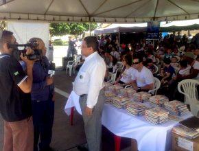 Em Rio Verde a TV Record fez a divulgação da campanha