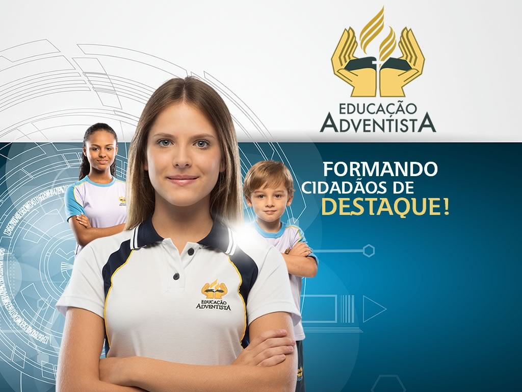 Imagem da campanha da Rede de Educação Adventista