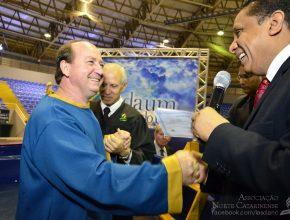 Rogério estudou a Bíblia com o pastor Luís Gonçalves pelo programa Arena do Futuro.
