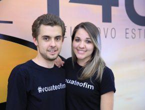 Por meio dos corais, Maria Carolina e Marcos Ferreira se conheceram e hoje estão namorando