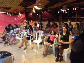A diretora do Ministério da Mulher para o sul de MG, Edjânia Oliveira, foi uma das palestrantes.