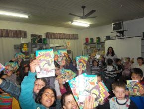 Foco da campanha neste ano foram as escolas públicas do município. Foto: arquivo MOSR.