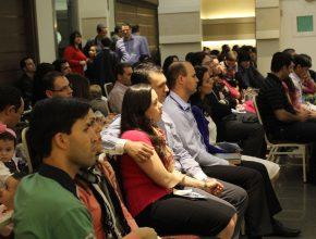 Um número expressivo de famílias esteve presente: eram 66, incluindo as dos palestrantes convidados.