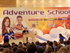 Os estudantes mais bem colocados foram premiados no final do evento.