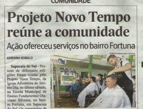 Jornal Vale dos Sinos abrange as cidades de Sapucaia do Sul, Esteio e São Leopoldo.