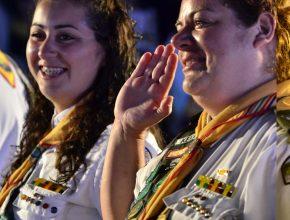 Mãe e filha  dividem a emoção se investirem em Líder Máster no Campori