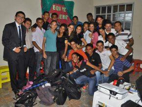Equipe Valdenses em uma de suas campanhas no noroeste gaúcho.