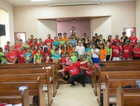 IASD de Miranda celebra arrecadação de 2014 alcançada pelo Mutirão de Natal com o esforço conjunto dos membros.