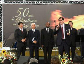Administradores da  Igreja Adventista apoiam evento em Mogi Guaçu, SP