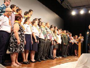 Jovens, desbravadores e aventureiros foram incentivados a participar da Missão Calebe 2015.