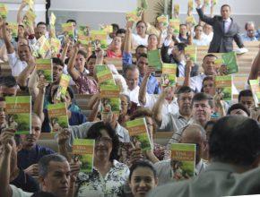 Participantes do Desafio 1+1 em Registro, no Vale do Ribeira
