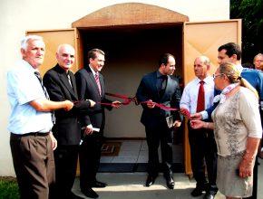 Inauguração da igreja de Ramiz Galvão aconteceu no dia 25 de outubro.
