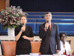Líder mundial de Educação da Igreja Adventista, Lisa Beardsley-Hardy.