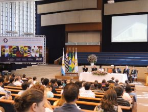Vista geral do evento que acontece em Hortolândia, interior de São Paulo.