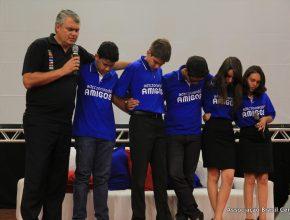 Adolescentes participaram do evento contribuindo com sugestões de como alcançar a nova geração