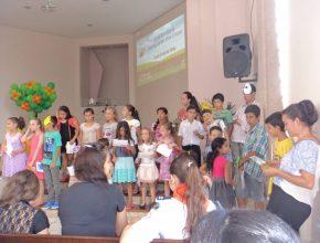 Escola Cristã de Férias em Sapiranga, RS.