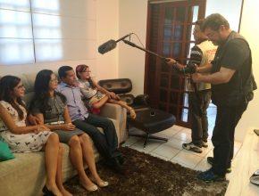 Empresário de Caruaru (PE) relata testemunho ao lado da família