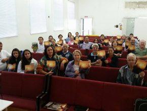 Fiéis de Palmeira das Missões participando ativamente da campanha.
