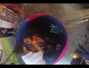 Em janeiro, 2.173 pessoas foram batizadas.