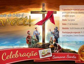 Testemunhos, capacitações e homenagens vão marcar esse programa de celebração