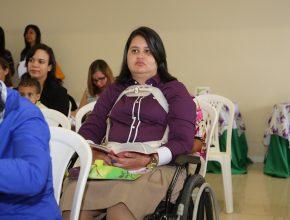 Maria Flávia é lider do Ministério da Mulher em sua igreja há 1 ano.
