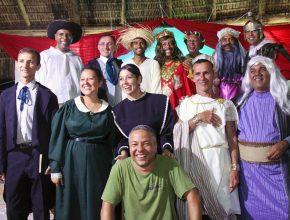 Equipe das encenações dirigidas por Benjamim Gomes do Nascimento.