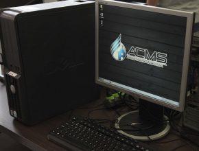 O novo sistema da tesouraria é o ACMS, já utilizado pelo departamento de secretaria.