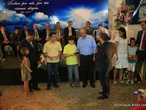 Representantes da Igreja local participaram da cerimônia especial