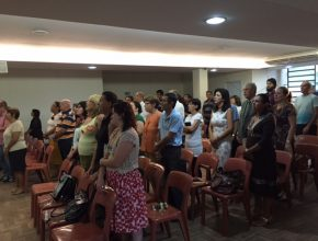 A Igreja Adventista Central de Porto Alegre realizou, durante os 10 dias, cultos matutinos, às 6:30 horas.