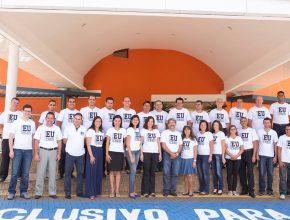 Colportores do Mato Grosso do Sul e líderes.