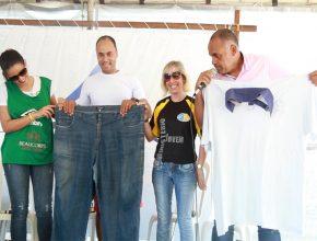 """""""Tenho o objetivo de viajar o Brasil contando minha experiência e, assim, incentivar especialmente pessoas que estejam com obesidade severa a recuperar a estima e a esperança"""""""